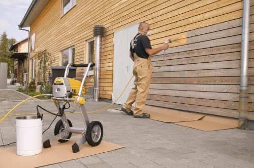 Todoferreteria equipo de pintar airless wagner project 119 - Maquina para pintar paredes ...