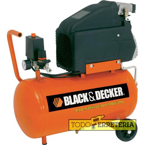 Compresor black and decker 25 litros precio mesa para la - Compresor de aire 25 litros ...
