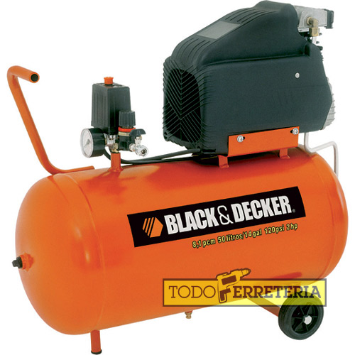 Todoferreteria compresor black decker ct250 linea pro - Compresor 50 litros ...
