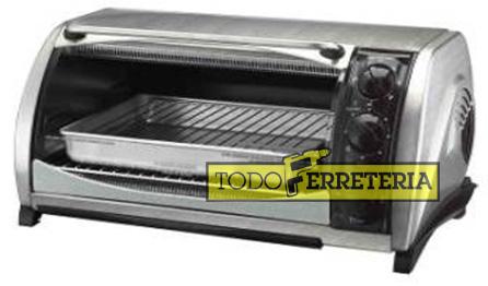 Todoferreteria horno el ctrico black decker cto650 for Horno electrico black decker