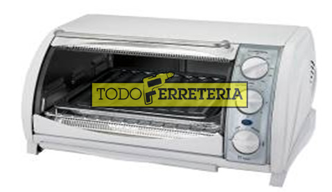 Todoferreteria horno el ctrico black decker cto500 for Horno electrico black decker