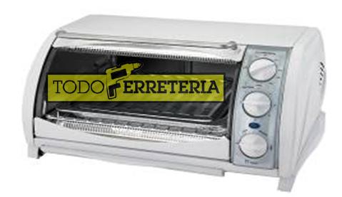 Todoferreteria horno el ctrico black decker cto600 for Horno electrico black decker
