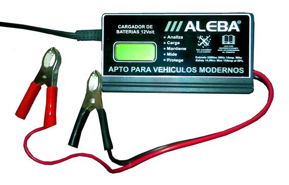 Todoferreteria cargador de bateria aleba electronico inteligente car 004 - Cargador de pilas precio ...