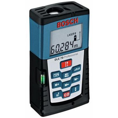 Todoferreteria medidor de distancia lser bosch dle70 for Medidor de distancia laser