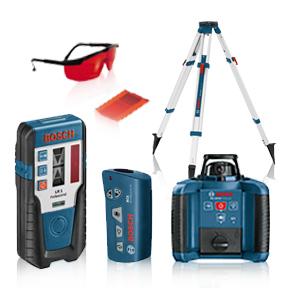 Todoferreteria nivel laser rotativo bosch grl 250 hv - Nivel laser bosch ...