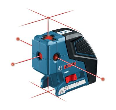 Todoferreteria nivel laser de lineas y punto bosch gpl 5 c - Nivel laser bosch ...