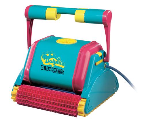 Todoferreteria robot limpia piscinas dolphin diagnostic pvc for Robot limpia piscina