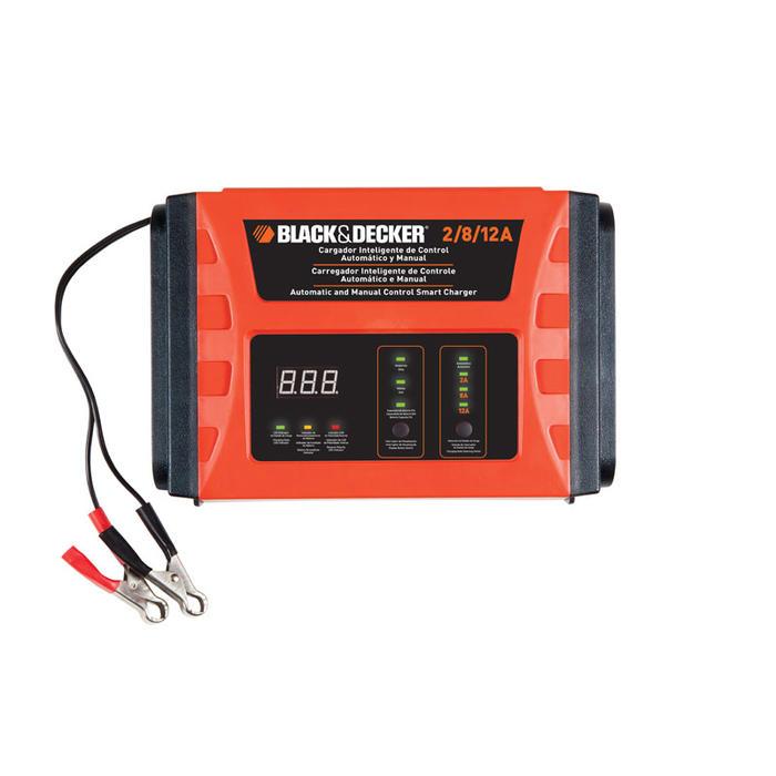 Todoferreteria cargador de batera automtico black - Cargador de baterias ...