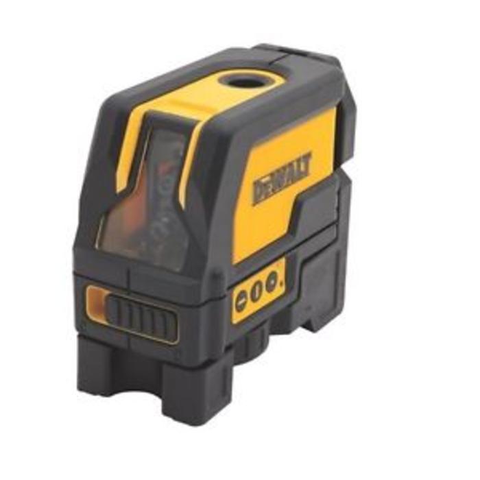 Todoferreteria nivel laser en cruz y plomada dewalt dw0822 - Precio nivel laser ...