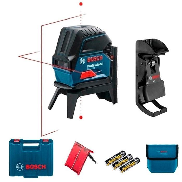 Todoferreteria nivel laser de lineas y puntos bosch gcl - Nivel laser bosch ...