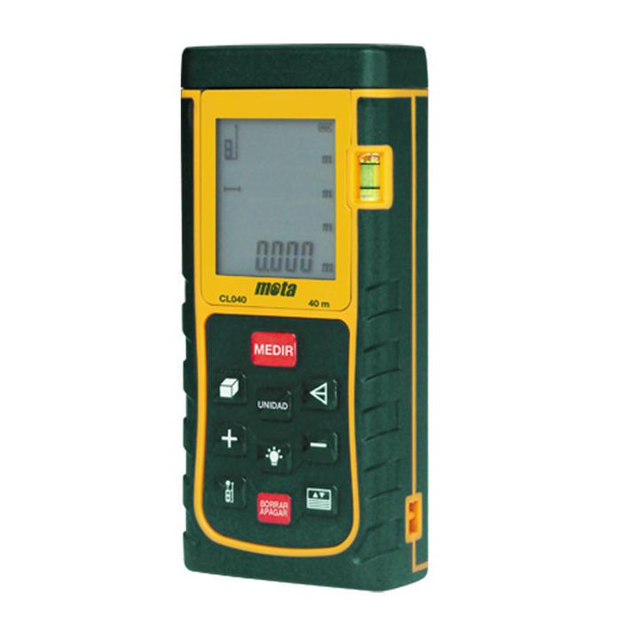 Todoferreteria medidor de distancia laser mota cl040 - Medidor de distancia ...